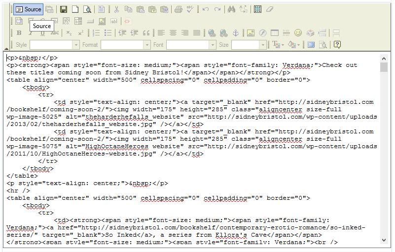 Static HTML 05