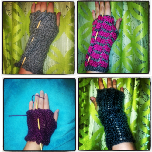 My knitting obsession.