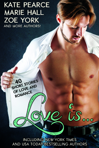 Hurry and grab the Love Is... charity anthology before its gone!