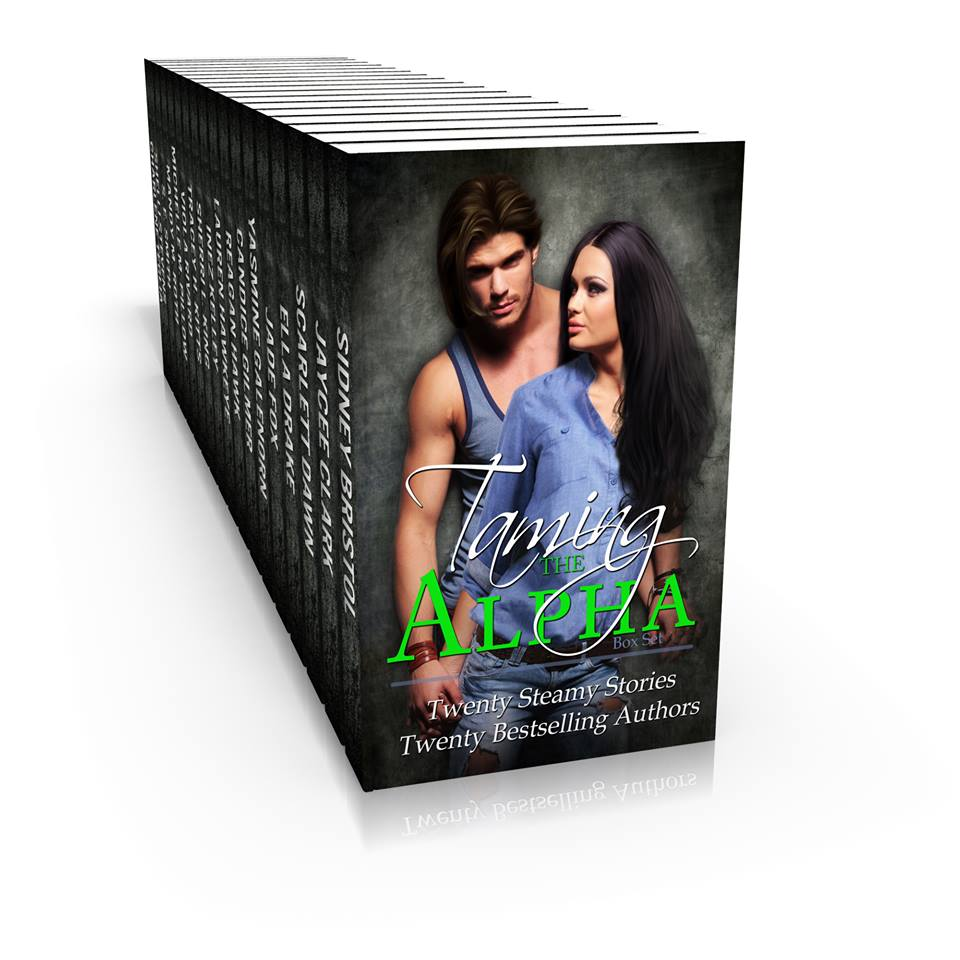 Taming the Alpha boxed set is up on Amazon for pre-order!
