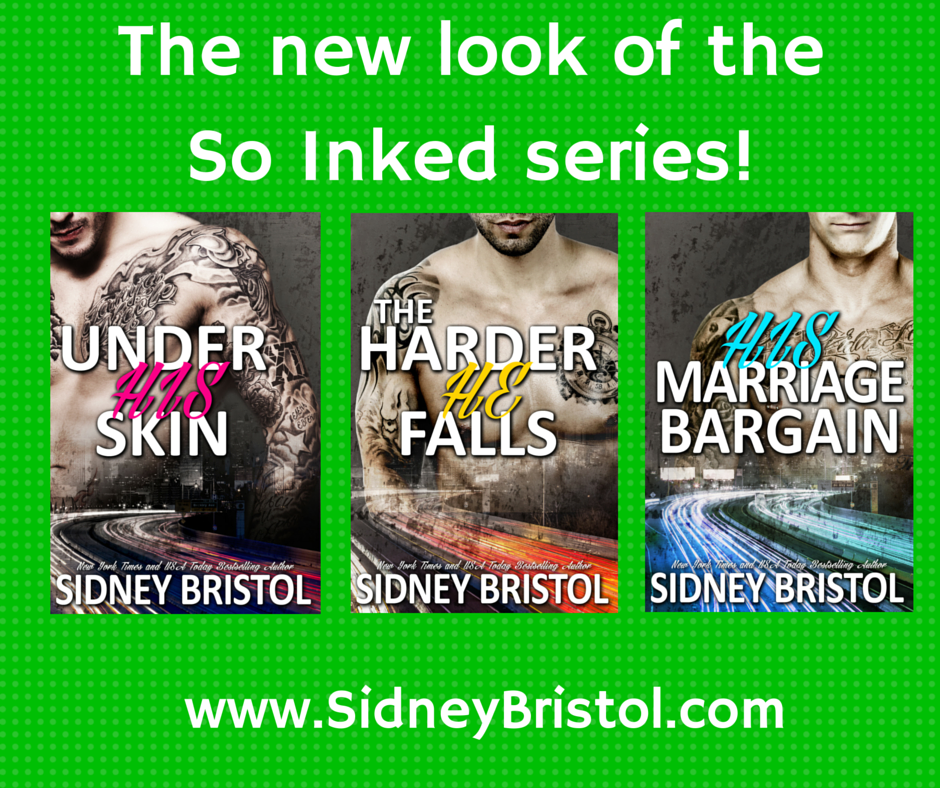 Check out the all new look for the So Inked series!