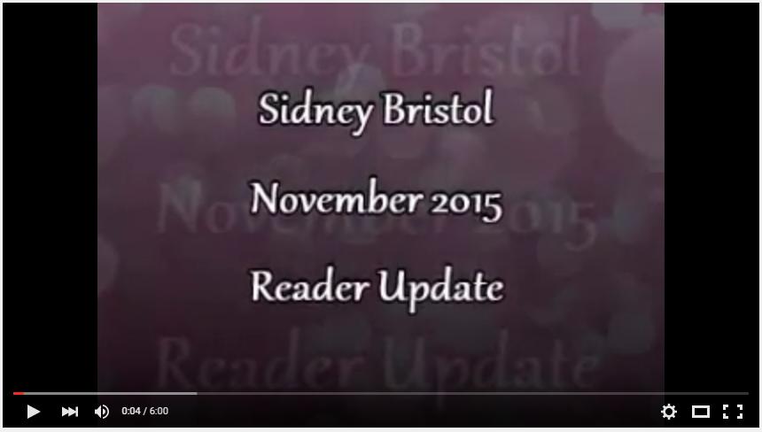 November Reader Update!