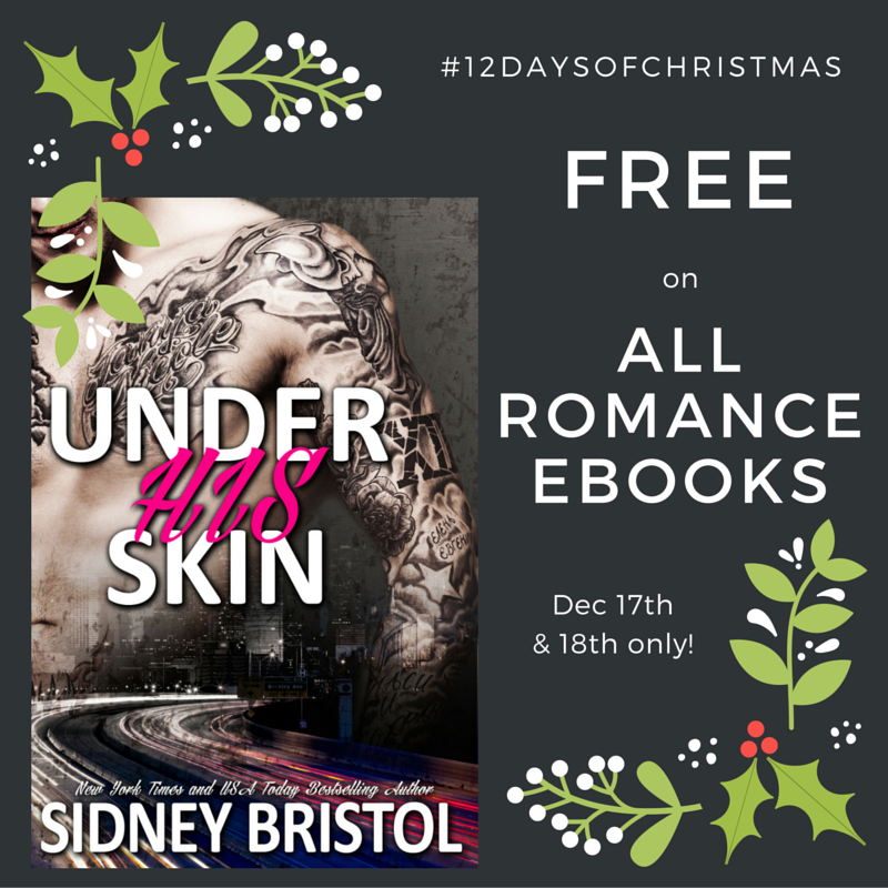 Under His Skin FREE on All Romance eBooks!