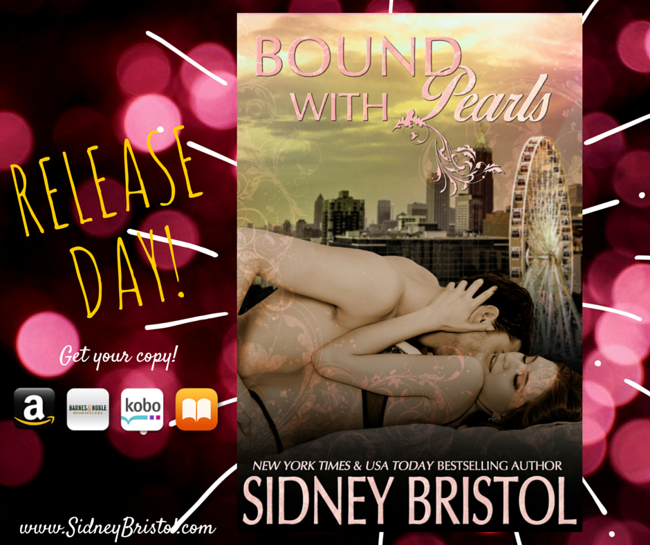Bound with Pearls is out in the wild!