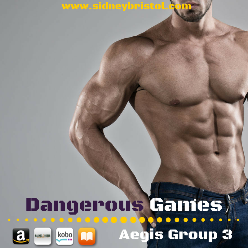 Dangerous Games: A glimpse inside the cover...