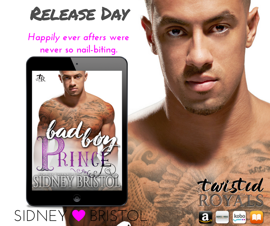 Bad Boy Prince is out in the wild!