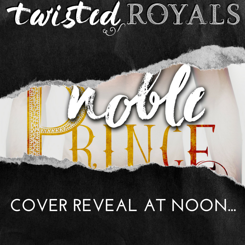 Cover reveal for NOBLE PRINCE!