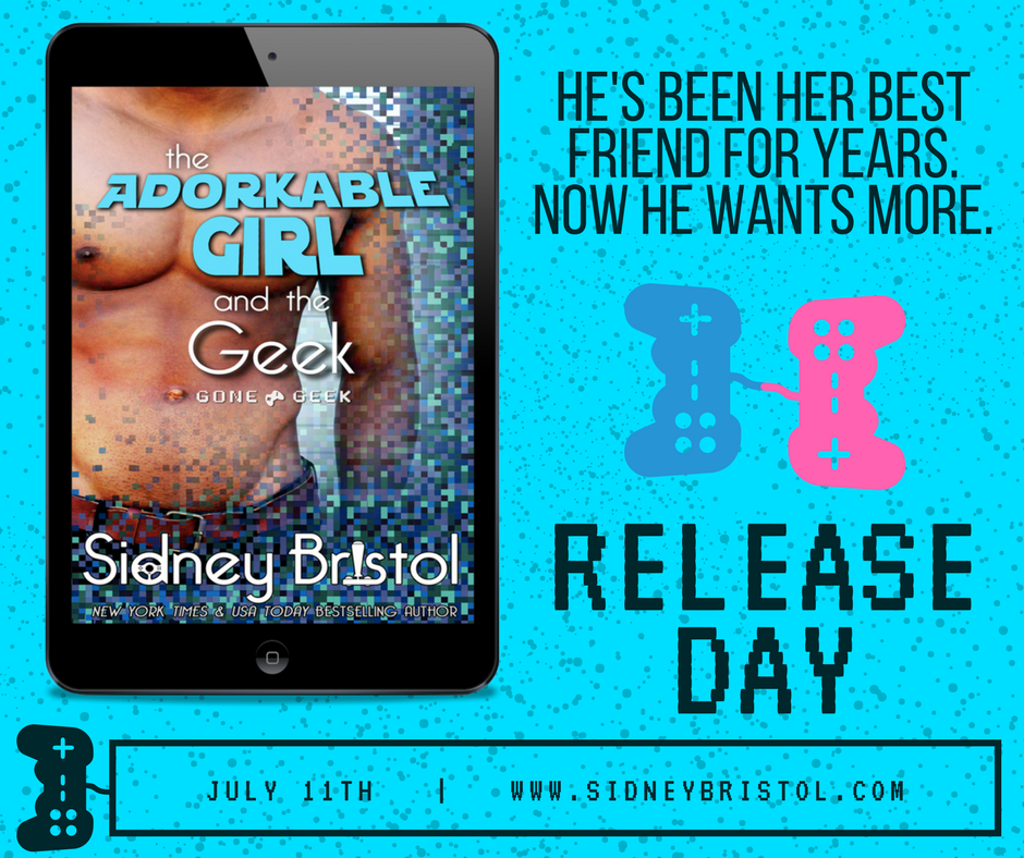 Release Day for The Adorkable Girl and the Geek!