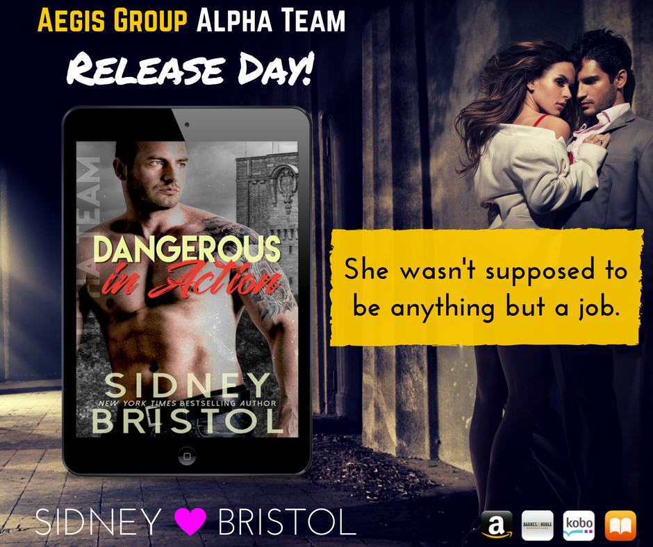 DANGEROUS IN ACTION is out in the wild!